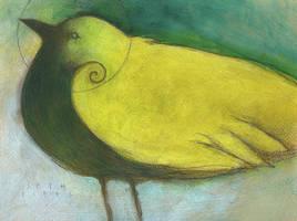 Blue Eyed Bird by SethFitts