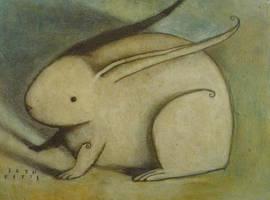 Crouched Rabbit by SethFitts