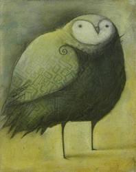 Green Owl by SethFitts