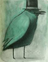 Top Hat Bird by SethFitts