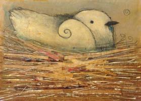 Nesting Bird (Spiraled) by SethFitts