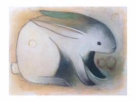 Knowing Rabbit (3 circles) by SethFitts