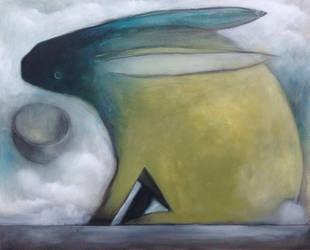Dark Blue Faced Rabbit..... by SethFitts