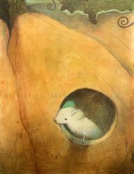 Pumpkin Mouse (Jack's Eye) by SethFitts