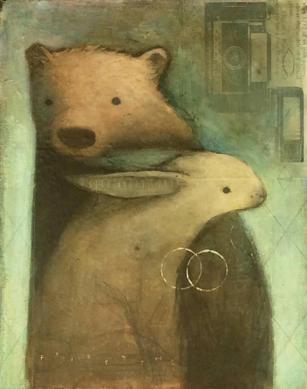 Bear and Rabbit by SethFitts