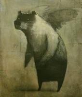 Winged Bear by SethFitts