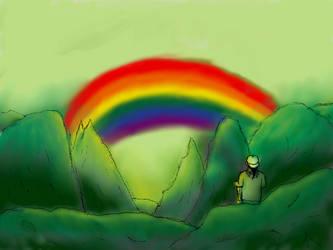 Finding my Rainbow by BluetomDraws