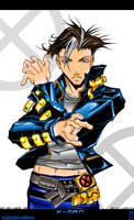 nyanko-chan's X-man colored by jag770