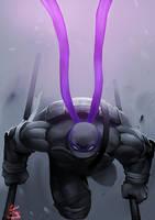 Donatello - The Darkness by SOLOMONSTA