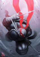 Raphael - The Darkness by SOLOMONSTA