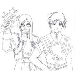 Jade and Mustang by Lord-Chikara