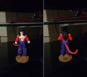 Figurine Son Gohan Super Saiyajin 4 by Kiitchi
