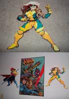 Marvel Vs Capcom 2 Rogue Perler by celticruins