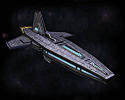 Mythos - Exploration Cruiser by Xelitron