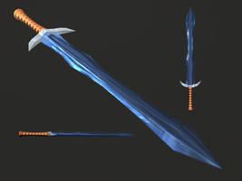 Diablo II Crystal Sword by Xelitron