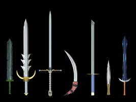 Sword Set by Xelitron