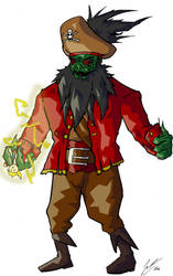 MI - Capitain LeChuck by Lesramo