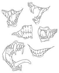 F2U - Toothy Lines by ShadowInkWarrior