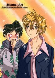 If Jakotsu meets Yuki by Klamsi