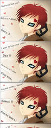 Gaara and the fangirls by Klamsi