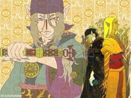 mononoke wallpaper :big: by sexyaznotaku