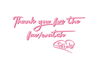 Thank you! by Petaldraws