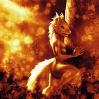 Golden Squirrel 3 by KP-ShadowSquirrel