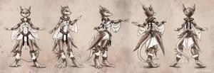 Rat dance costume 1 by KP-ShadowSquirrel