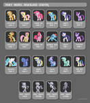 Pony Model Download Center by KP-ShadowSquirrel
