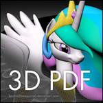 Pony 3D PDF Files by KP-ShadowSquirrel