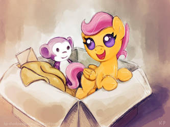 My little Scootaloo by KP-ShadowSquirrel