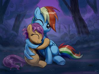 Hug by KP-ShadowSquirrel