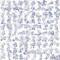 Super Speedy Pony Sketches 2 by KP-ShadowSquirrel