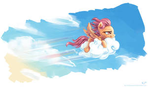 I can fly! by KP-ShadowSquirrel