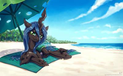 Chrysalis ... beach ... again by KP-ShadowSquirrel