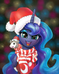 Happy Holidays and a Happy New Year by KP-ShadowSquirrel