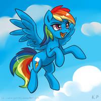 Speedpaint 05 - Rainbow Dash by KP-ShadowSquirrel