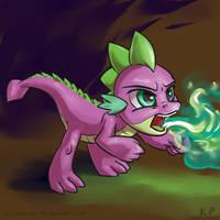 Speedpaint 07 - Spike by KP-ShadowSquirrel