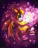 Fidget - Magic by KP-ShadowSquirrel