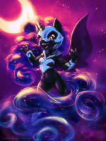 Nightmare Moon by KP-ShadowSquirrel