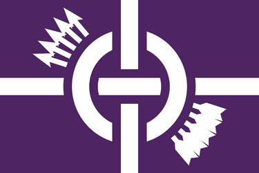 Redesigned Flag of the Haudenosaunee (Iroquois) by Wolf-ODonnell