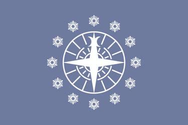 Flag of a Polar Bear controlled EU by Wolf-ODonnell