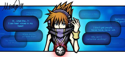 Neku - In my mind by LightningGuy