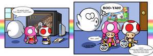 Mario Kart - Pun-believable by LightningGuy