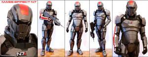 N7 Armor Test Fit V by hsholderiii
