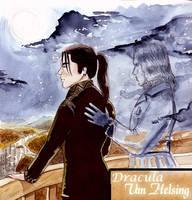 Dracula-Van Helsing by DragonG