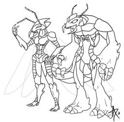 Royal Ant Concepts by CliffeArts