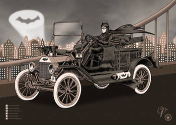 Vintage Batmobile by Carmela-DarkQueen