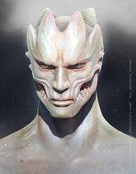 Deimos_bust by albino-Z
