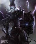 Necrotic Knight by albino-Z